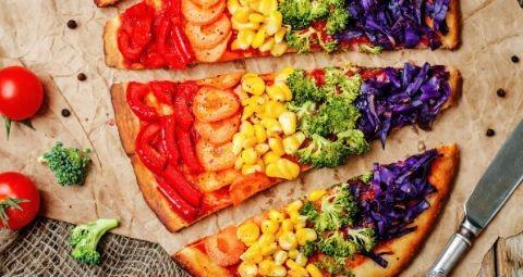 Receita Pizza Colorida