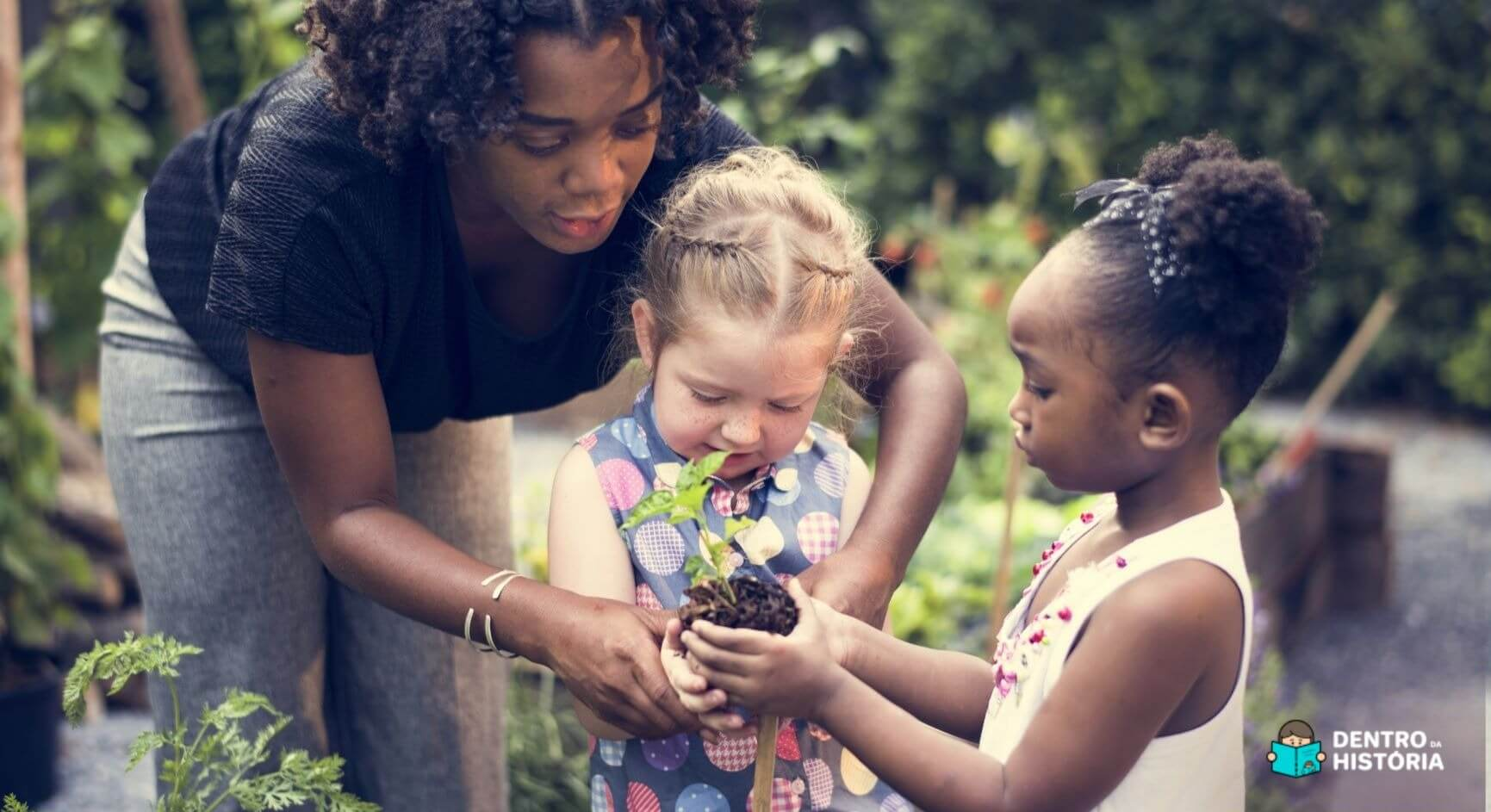 Como a jardinagem ensina as crianças a respeitarem a natureza?