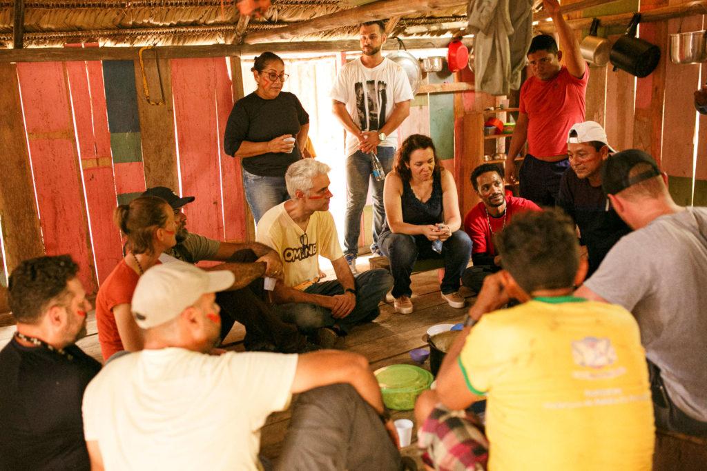 Omunga desenvolve projeto social em Atalaia do Norte