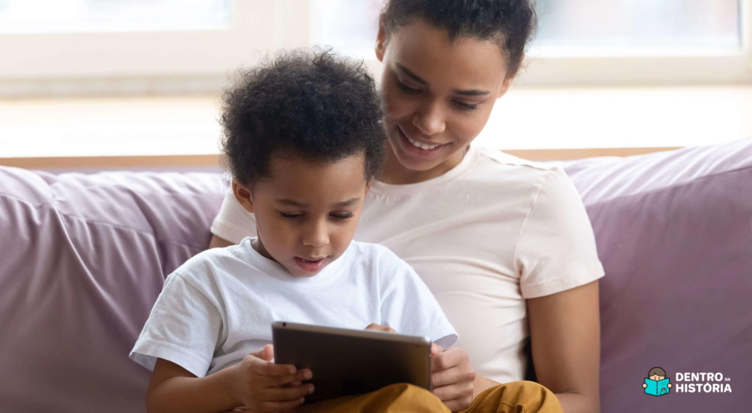 +100 Livros infantis grátis para ler com as crianças