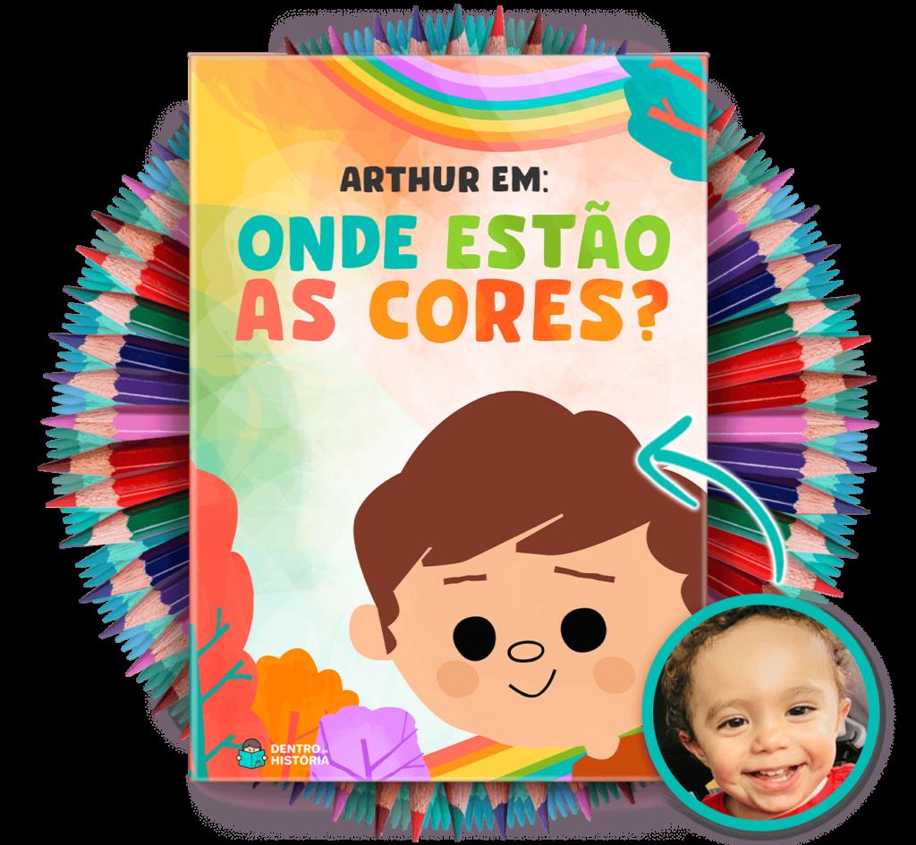 Livro Personalizado - Onde estão as cores