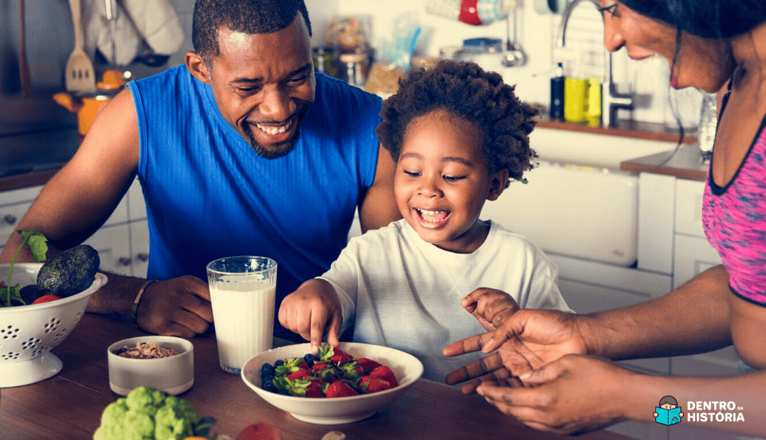 Alimentação vegetariana para crianças