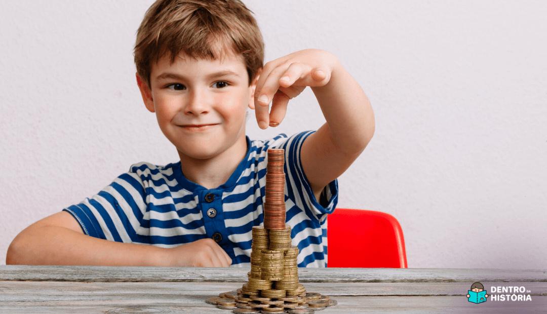 Como ensinar Educação Financeira para as crianças