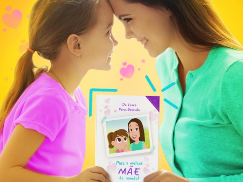 Cartão personalizado para mãe