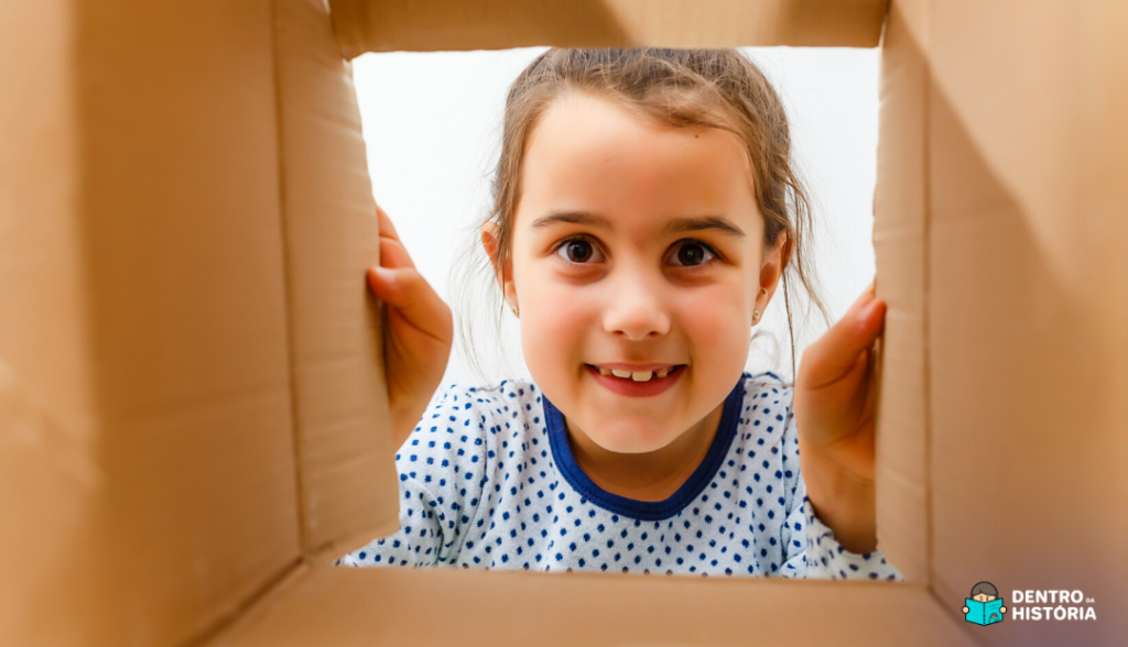 Como fazer uma caixa sensorial