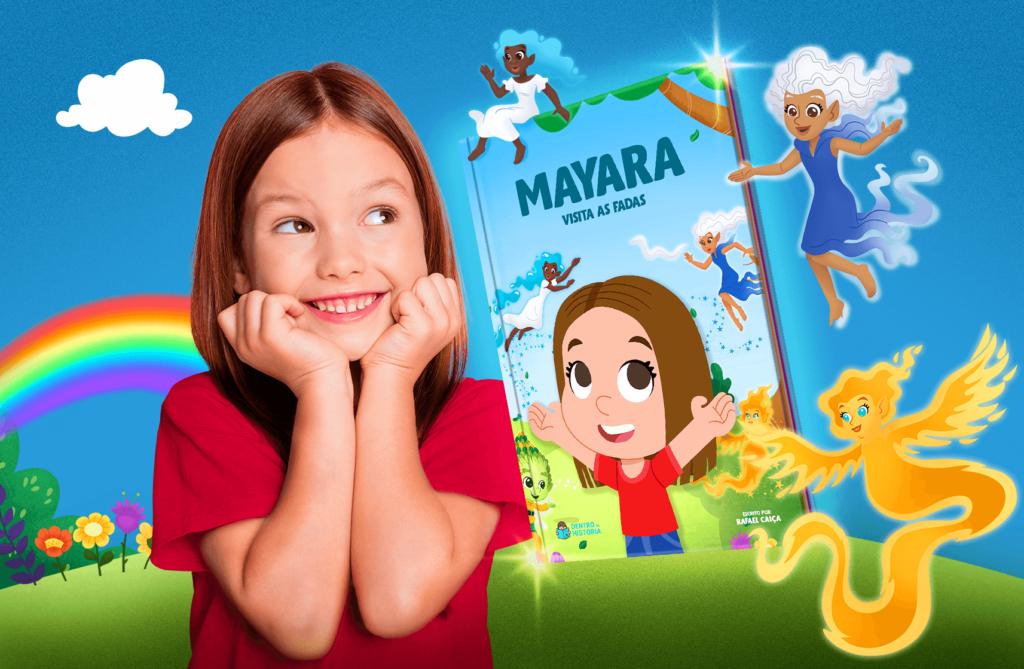 Livro infantil sobre Fadas