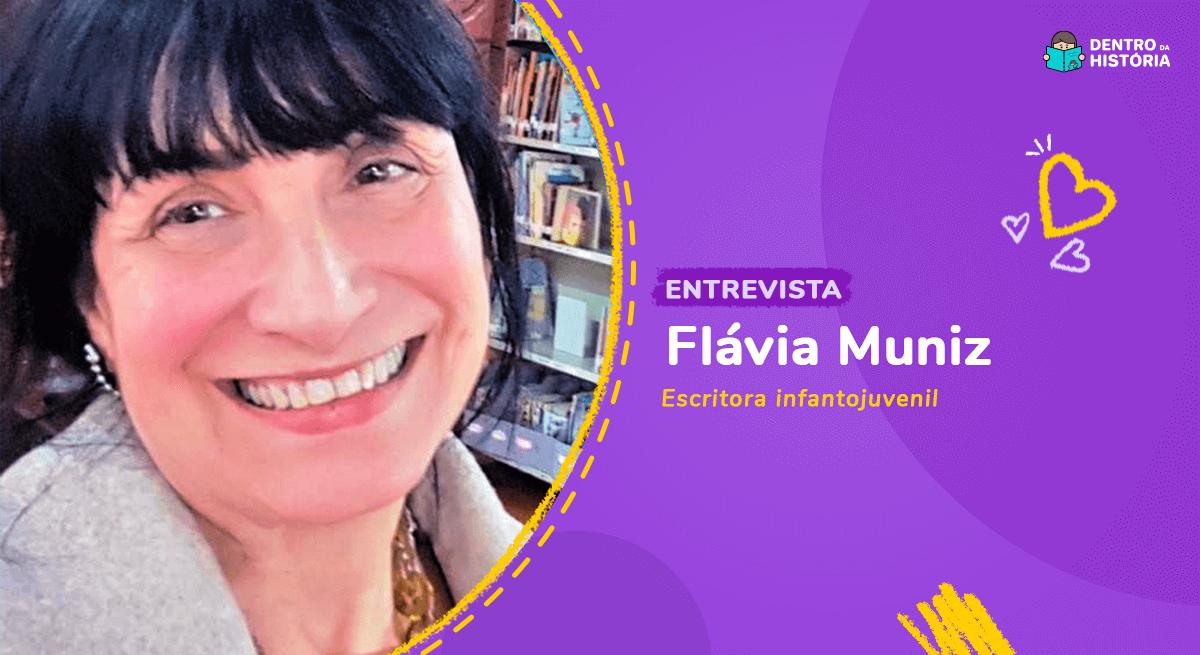 Flávia Muniz, autora de livros infantis