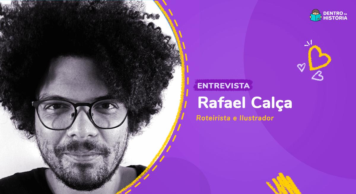 Rafael Calça, autor de livros infantis