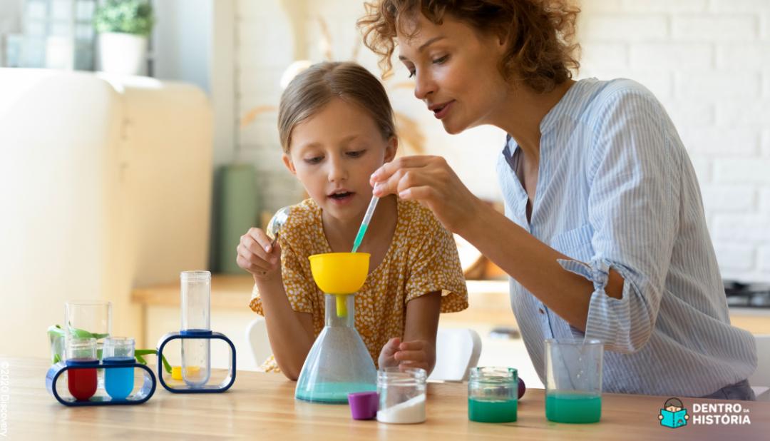 Experimentos científicos para fazer em casa com as crianças