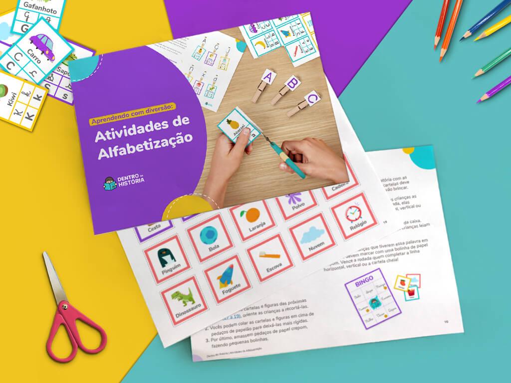 Ebook Atividades de Alfabetização