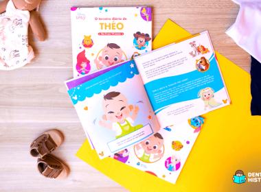 livro do bebê personalizado