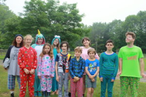 All our fully suited PJ-wearers