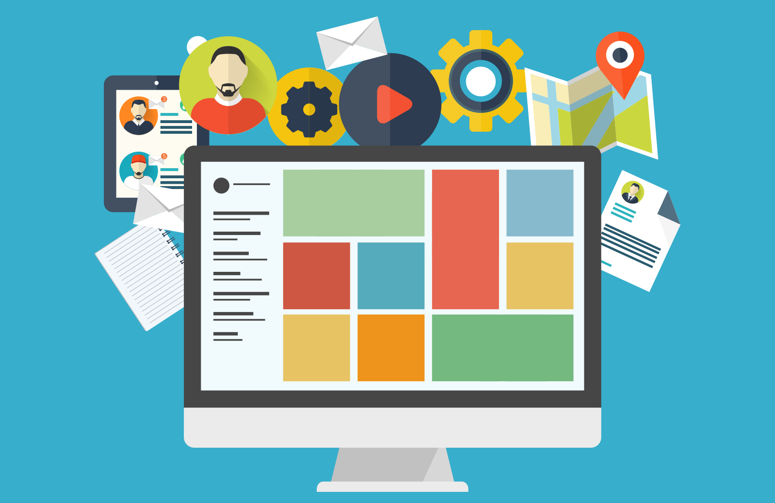 getting a new content management system CMS