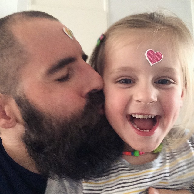 Jan-Paul Koudstaal @jpkoudstaal senior designer at Mangrove My morning ritual, kissing my daughter good-morning.