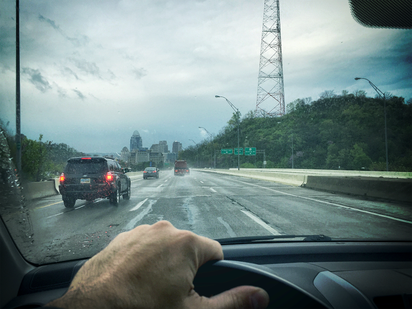 """My commute (on a rainy day)""Paul Armstrong, Co-founder & CCO of ChoreMonster"