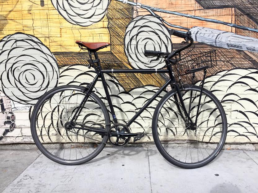 """I commute every morning on a mamachari from the Mission to SOMA, where the Jauntful studio is. It's an easy ride down Valencia and Market St that have safe bicycle lanes, which gives me a bit of quiet thinking and planning time before starting the day at the studio."" Raphael Grignani, Co-founder & CEO of Jauntful"