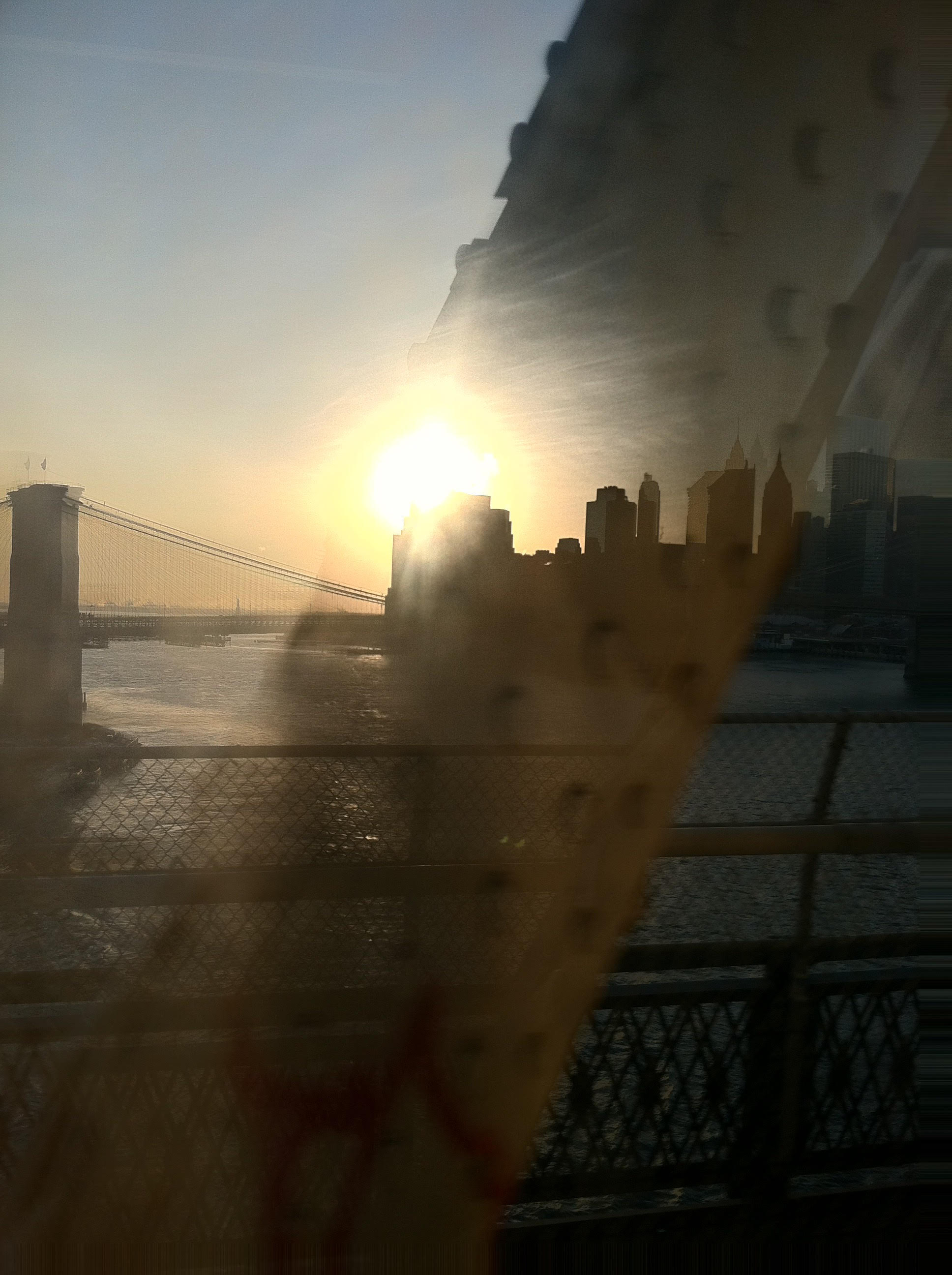 """Most days, I grab the subway for my commute and I'm lucky enough to see some sunshine as we go over the Manhattan bridge.""Sean Crowe, Senior Experience Designer at Moment"