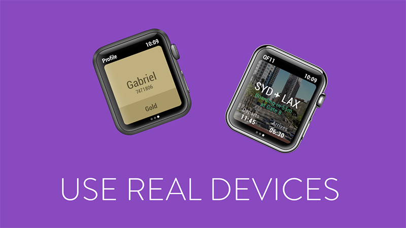use-real-devices