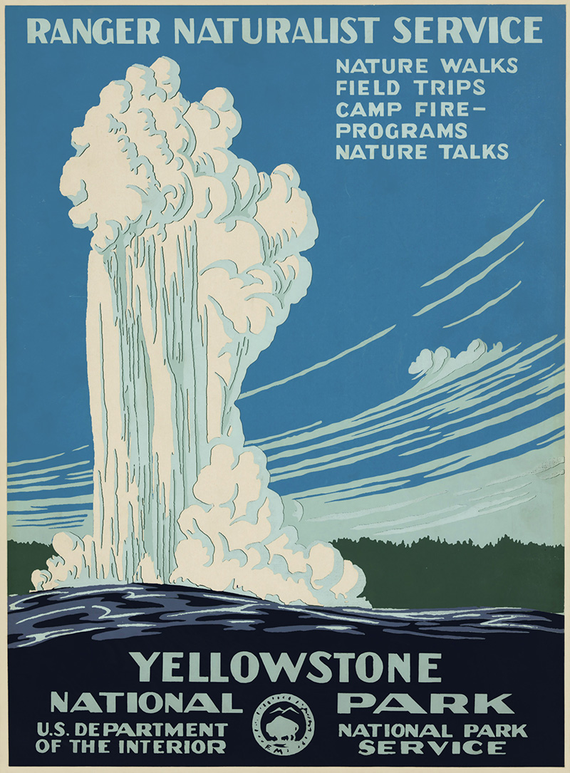 vintage yellowstone posters