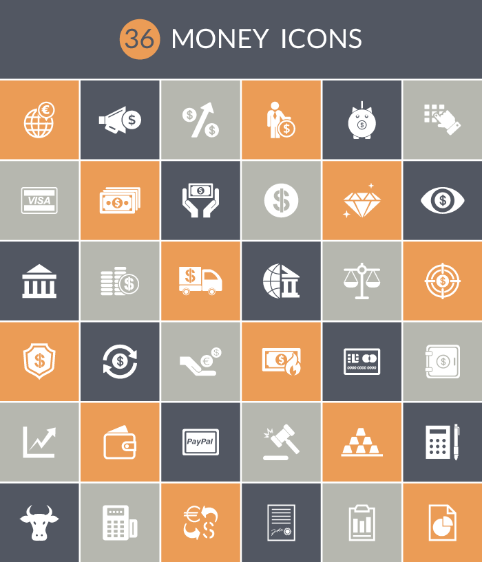 download 36 money icons free invision blog