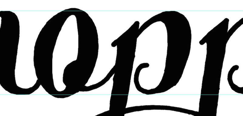 Creating a hand-lettered logo design | Inside Design Blog