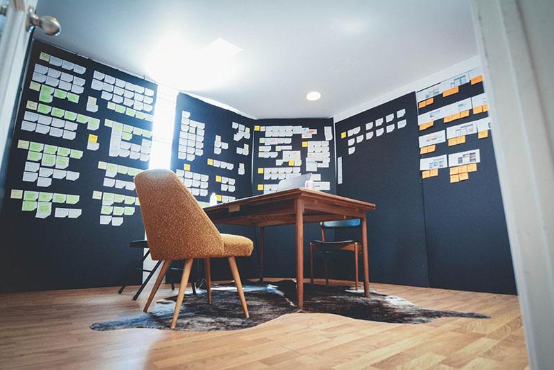 designing in a war room inside design blog rh invisionapp com design thinking war room war room design ideas