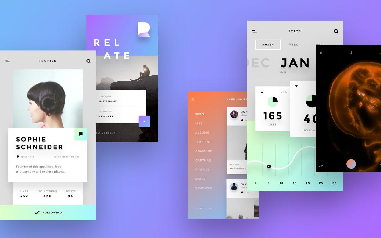 Relate UI kit