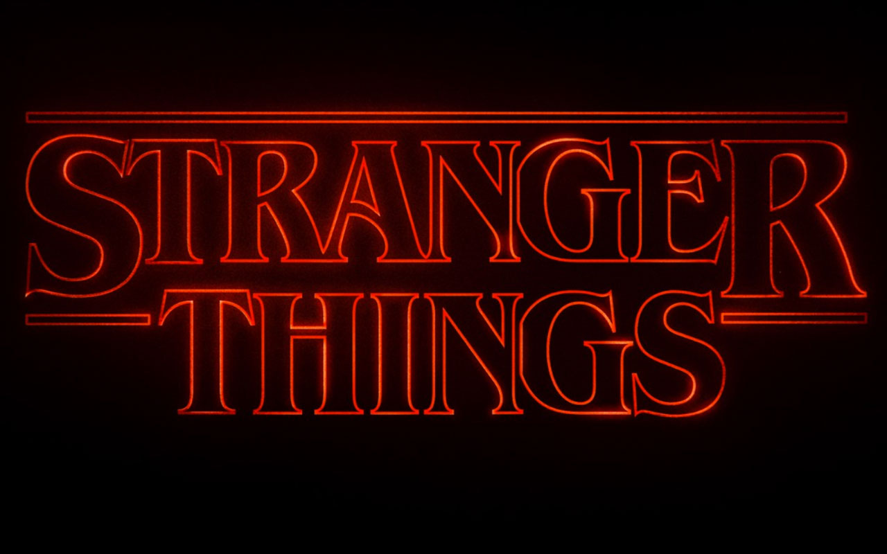The typography of 'Stranger Things'