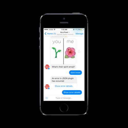 Creating input UI elements for a chatbot platform | Inside Design Blog