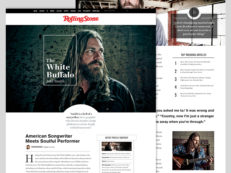 Rolling Stone redesign