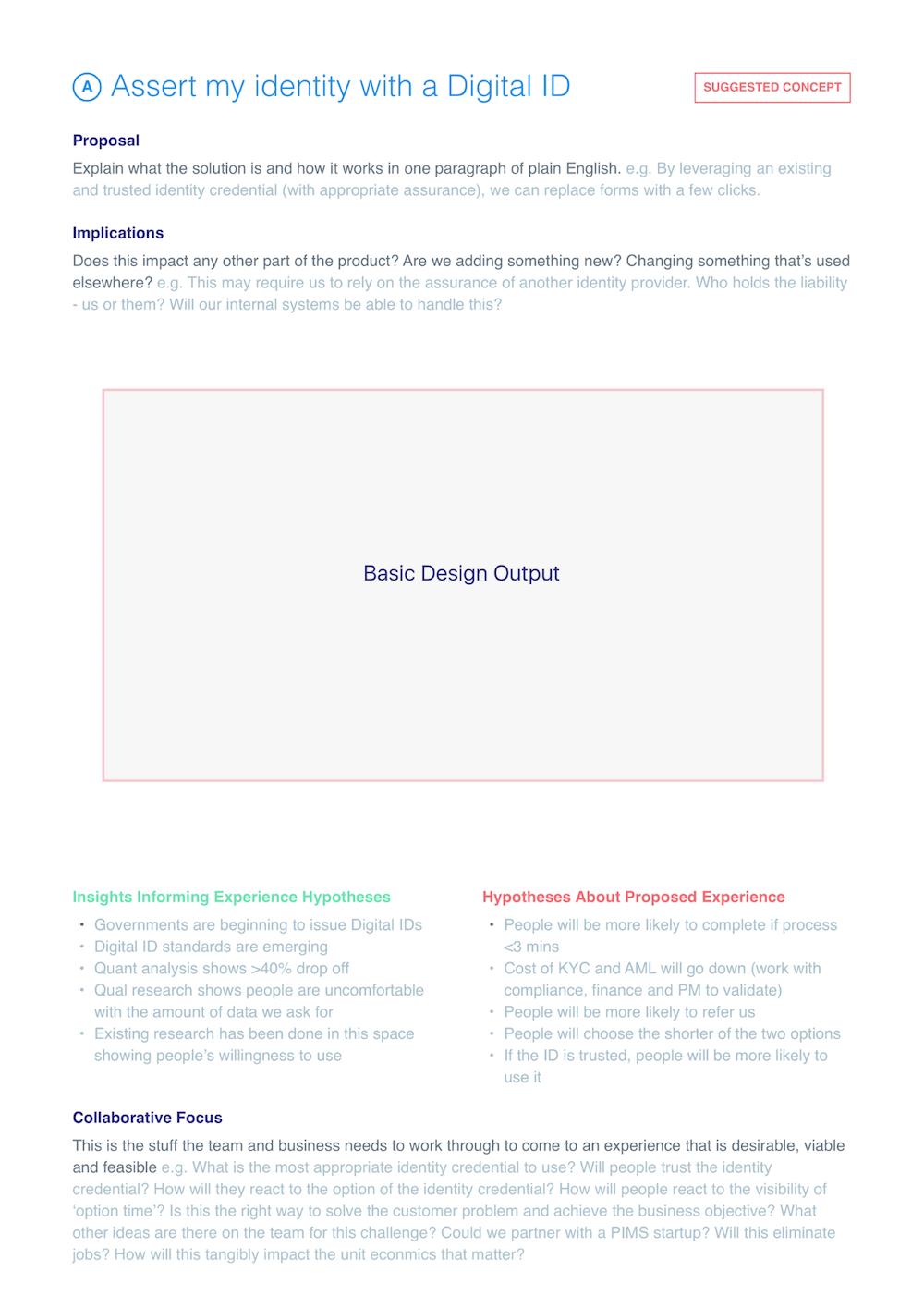 Rationalize design