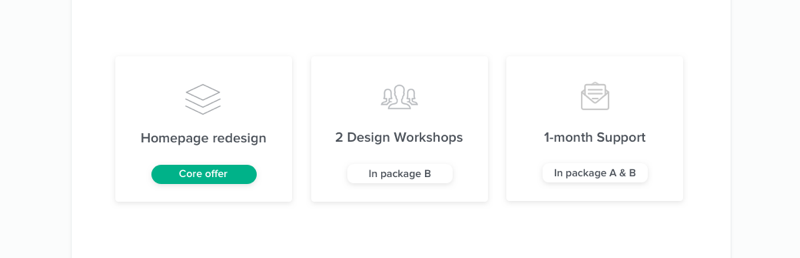Design proposal mistakes