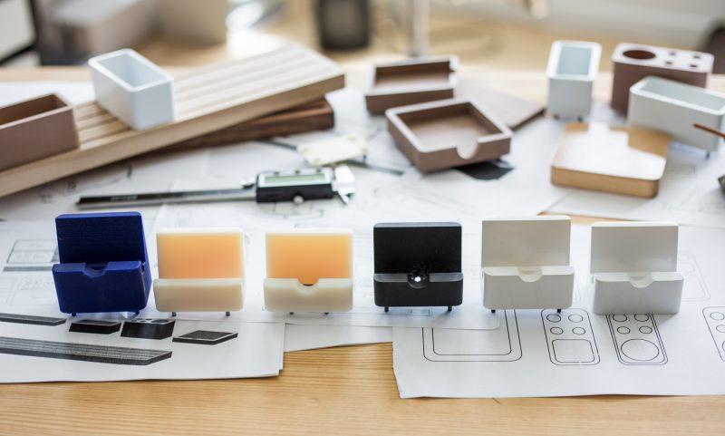 minimalist design prototype options
