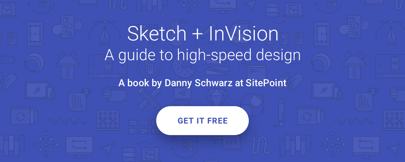 Get the Sketch + InVision book