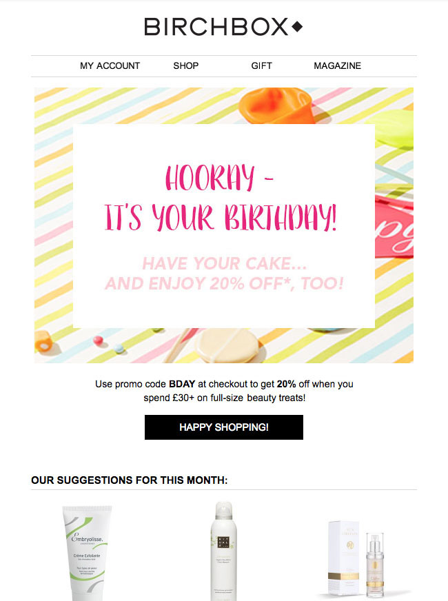 Email designs for higher conversions
