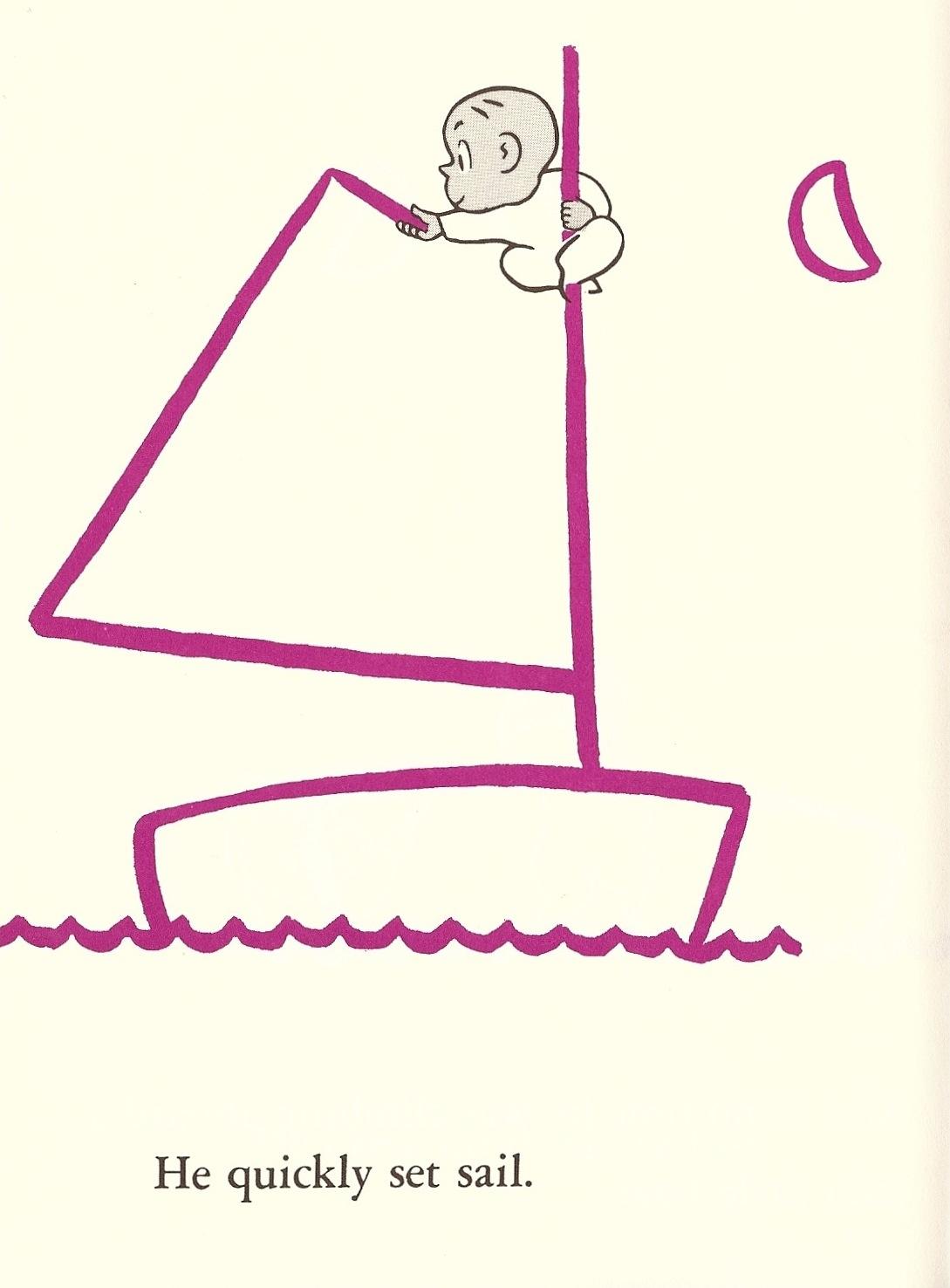 Harold and his crayon