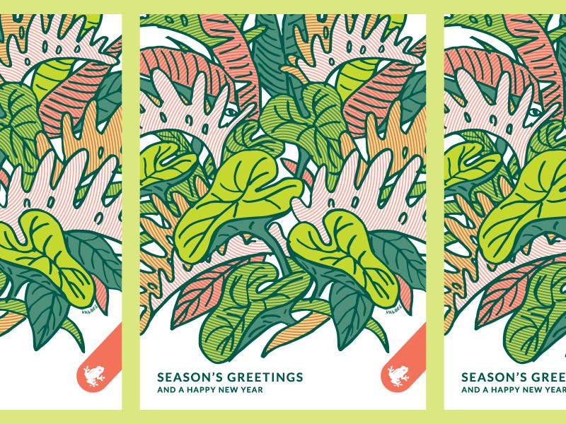 Designer holiday cards
