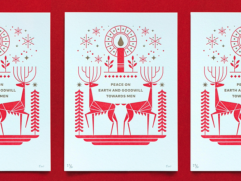 Seasons greetings10 gorgeous holiday card designs inside design blog designer holiday cards m4hsunfo