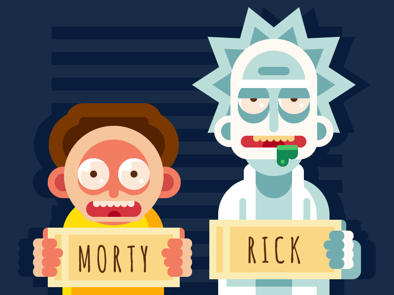 10 Designers Reimagine Rick And Morty