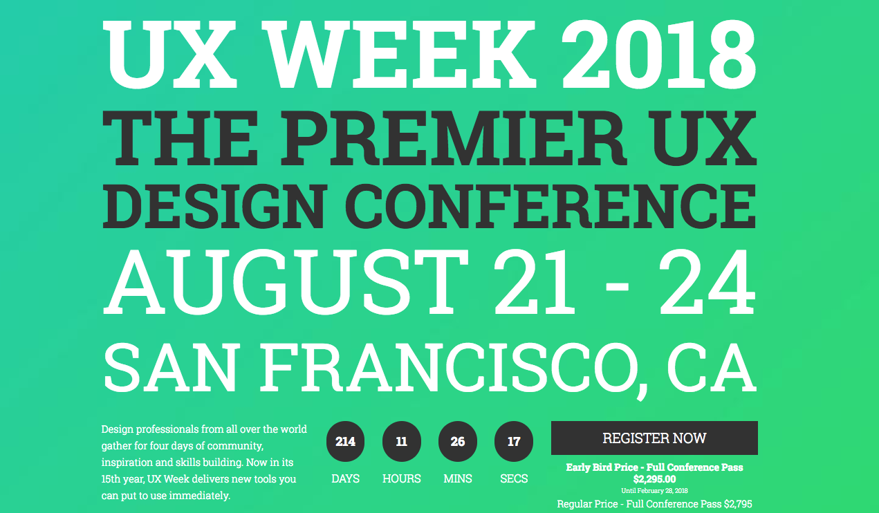 UX and content strategy conferences you don't want to miss