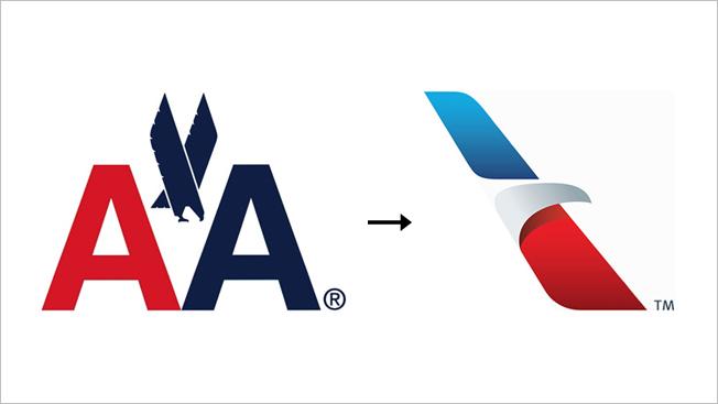 American Airlines logos