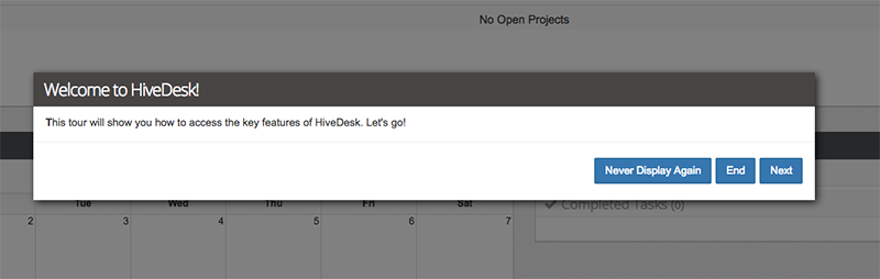HiveDesk onboarding