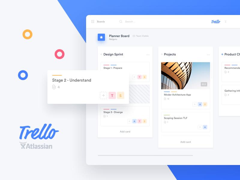 Trello redesign concept
