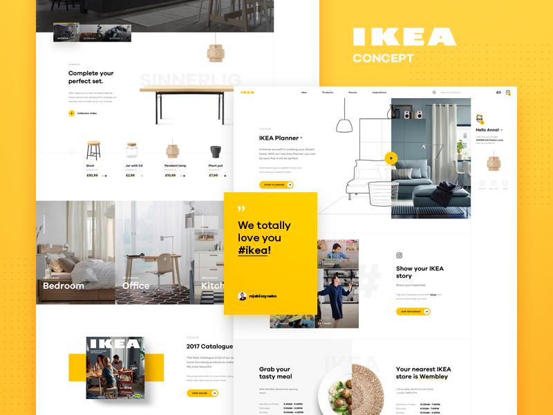 IKEA redesign concept