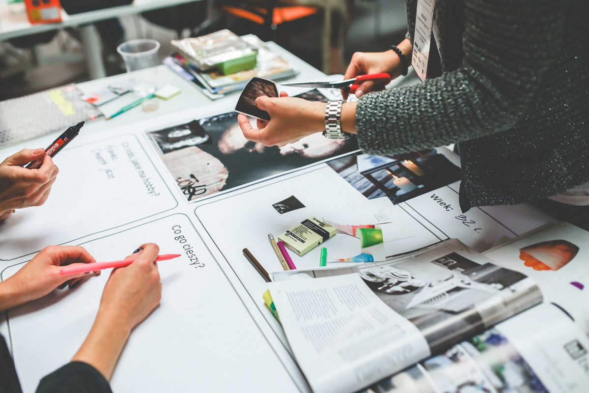 Design process content strategy