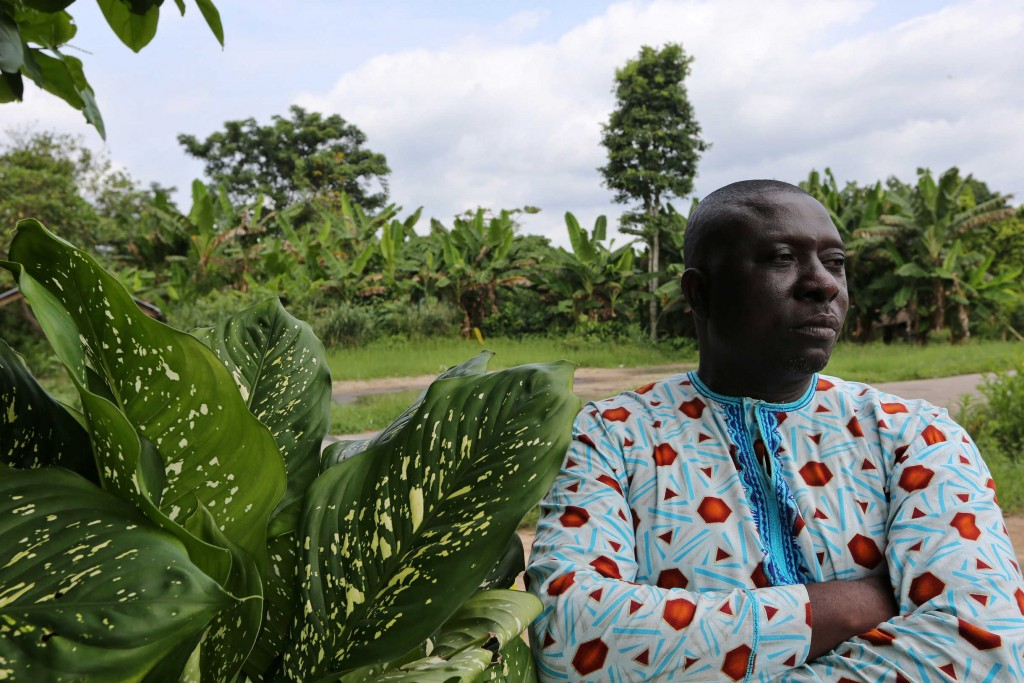 Gaius Sunday Ajuro, a former town councilor, says his community needs more assistance from the government to recover from violent conflict and chronic poverty. Photo: George Osodi / Panos for Oxfam America.