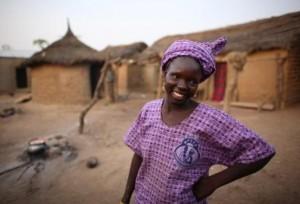 Mamoune Diarra. Rebecca Blackwell/Oxfam America