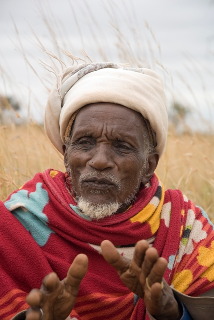 Kotola Buyale worries about what may happen to some of the pastureland in southern Ethiopia now that it has become productive again. Photo by Eva-Lotta Jansson/Oxfam America