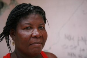 Marie for rain in Haiti blog