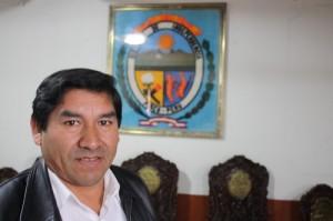 Marino Ucharima, Mayor of Independencia, Peru. Photo by Sarah Livingston.
